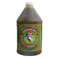 Pickapeppa Gingery Mango Sauce 1 Gallon